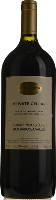 HEWITSON Private Cellar Shiraz Mourvedre, Barossa Valley 2008