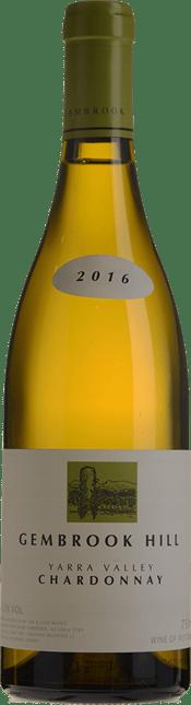 GEMBROOK HILL VINEYARD Chardonnay, Yarra Valley 2016