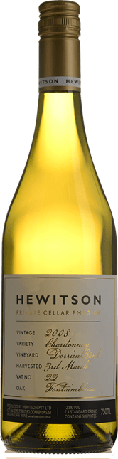 HEWITSON Private Cellar Chardonnay, Barossa Valley 2008