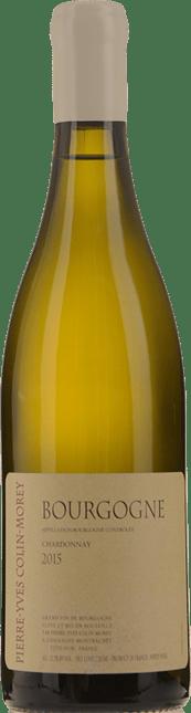 PIERRE YVES COLIN MOREY Bourgogne Blanc, Burgundy 2015
