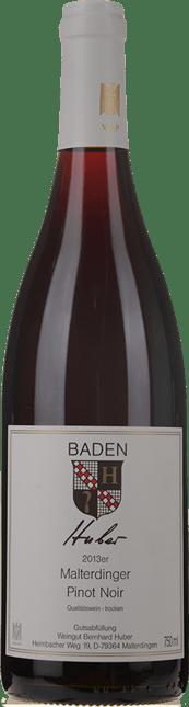 WEINGUT BERNHARD HUBER Malterdingen Pinot Noir, Baden 2013