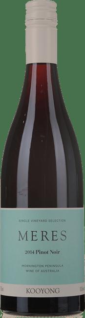 KOOYONG WINES Meres Pinot Noir, Mornington Peninsula 2014