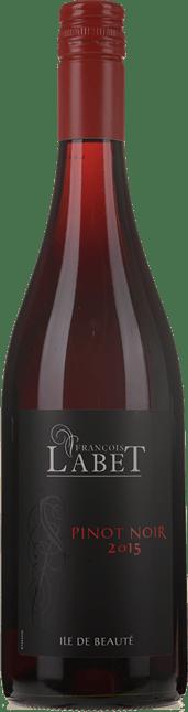 FRANCOIS LABET Pinot Noir, Ile de Beaute IGP 2015