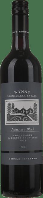 WYNNS COONAWARRA ESTATE Single Vineyard Johnson's Block Cabernet Sauvignon, Coonawarra 2014