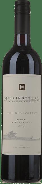 HICKINBOTHAM WINERY The Revivalist Clarendon Vineyard Merlot, McLaren Vale 2015