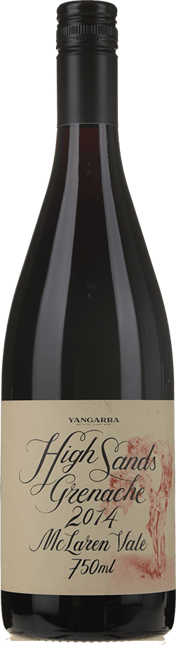 YANGARRA ESTATE VINEYARD High Sands Grenache, McLaren Vale 2014