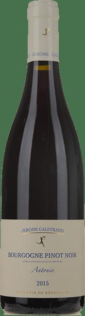 DOMAINE JEROME GALEYRAND, Bourgogne Pinot Noir Antonin 2015