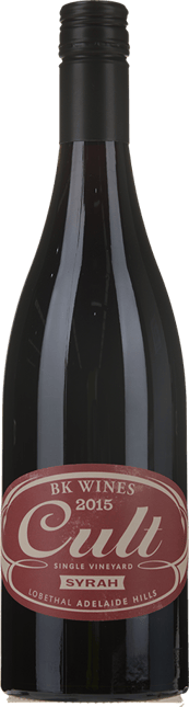 BK WINES Cult Single Vineyard Syrah, Adelaide Hills 2015