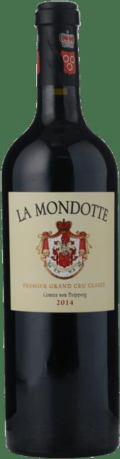 LA MONDOTTE 1er grand cru classe (B), St-Emilion 2014