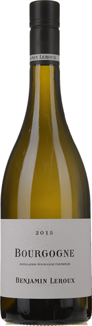 BENJAMIN LEROUX, Bourgogne Blanc 2015