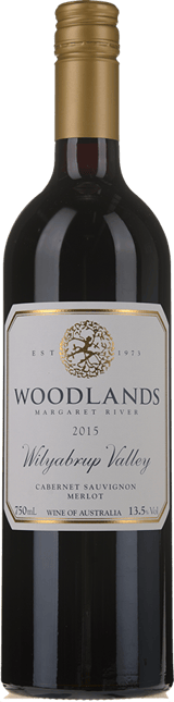 WOODLANDS Cabernet Merlot, Margaret River 2015