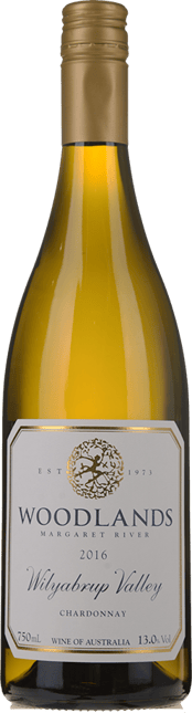 WOODLANDS Chardonnay, Margaret River 2016