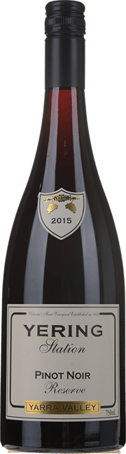 YERING STATION Reserve Pinot Noir, Yarra Valley 2015