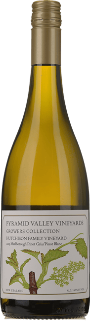 PYRAMID VALLEY VINEYARDS Growers Collection Hutchison Family Vineyard Pinot Blanc Pinot Gris, Marlborough 2015