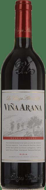 LA RIOJA ALTA Vina Arana Reserva, Rioja 2005