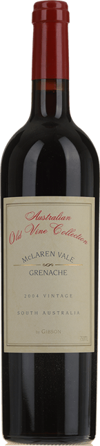 GIBSON Old Vine Collection Grenache, McLaren Vale 2004