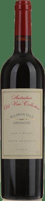 GIBSON Old Vine Collection Grenache, McLaren Vale 2004