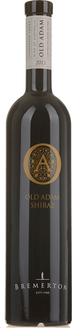 BREMERTON WINES Old Adam Shiraz, Langhorne Creek 2013