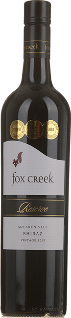 FOX CREEK WINES Reserve Shiraz, McLaren Vale 2013