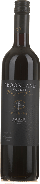 BROOKLAND VALLEY VINEYARD Reserve Cabernet Sauvignon, Margaret River 2012