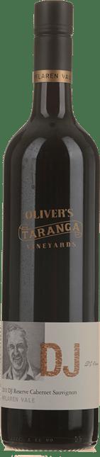 OLIVER'S TARANGA VINEYARDS DJ Reserve Cabernet Sauvignon, McLaren Vale 2011
