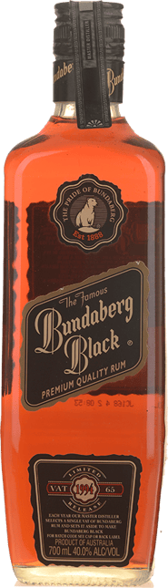 BUNDABERG Black Vat 65 1994 Limited Release 40% ABV, Bundaberg NV