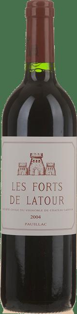 LES FORTS DE LATOUR Second wine of Chateau Latour, Pauillac 2004