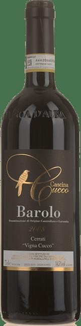 CASCINA CUCCO Cerrati Vigna Cucco, Barolo DOCG 2008