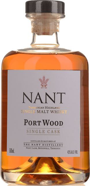 NANT DISTILLING COMPANY Port Wood Single Cask 43% ABV, Tasmania NV