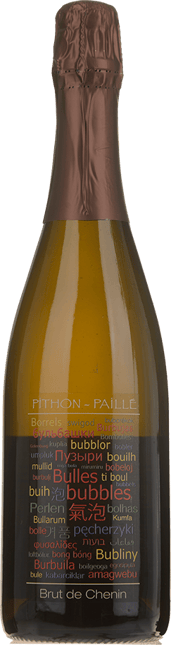 PITHON-PAILLE Brut de Chenin, Cremant de Loire AC NV