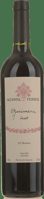 ACHAVAL - FERRER WINERY Quimera Malbec Merlot Cabernet, Mendoza 2009