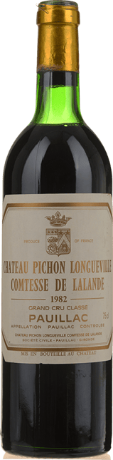 CHATEAU PICHON-LONGUEVILLE LALANDE 2me cru classe, Pauillac 1982