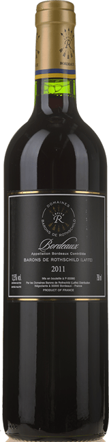 DOMAINES BARONS DE ROTHSCHILD Black Label, Bordeaux 2011