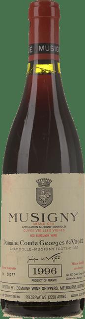 DOMAINE COMTE GEORGES DE VOGUE Cuvee Vieilles Vignes, Musigny 1996