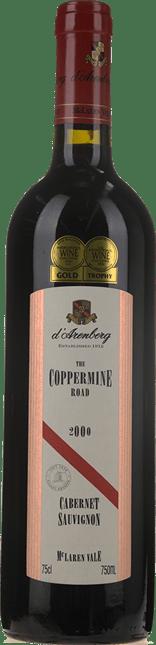 D'ARENBERG WINES The Coppermine Road Cabernet Sauvignon, McLaren Vale 2000
