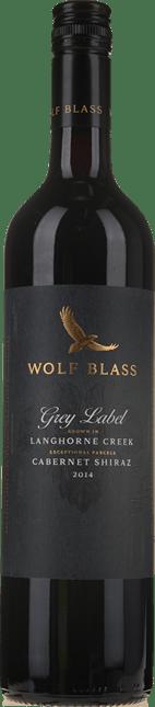 WOLF BLASS WINES Grey Label Cabernet-Shiraz, Langhorne Creek 2014