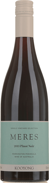 KOOYONG WINES Meres Pinot Noir, Mornington Peninsula 2013