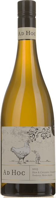 AD HOC Hen and Chicken Chardonnay, Pemberton,WA