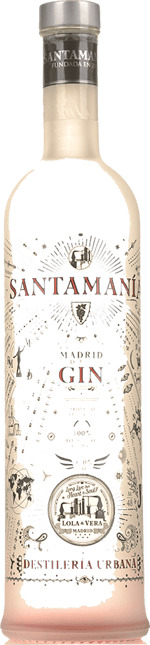 SANTAMANIA Madrid Dry Gin, Madrid NV