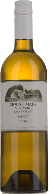 MOUNT MARY Triolet Semillon Sauvignon Blanc Muscadelle, Yarra Valley 2014