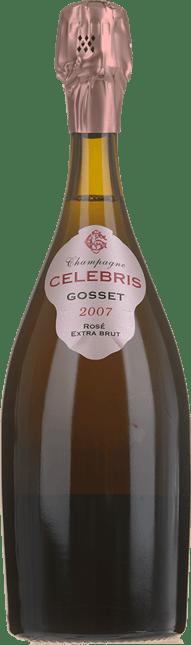 GOSSET Celebris Rose Extra Brut, Champagne 2007