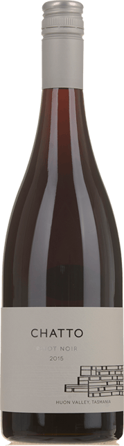 CHATTO WINES White Label Pinot Noir, Huon Valley, Tasmania 2015