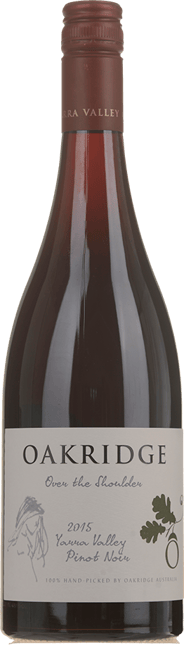 OAKRIDGE ESTATE Over The Shoulder Pinot Noir, Yarra Valley 2015