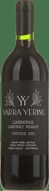 YARRA YERING Carrodus Cabernet Merlot, Yarra Valley 2012