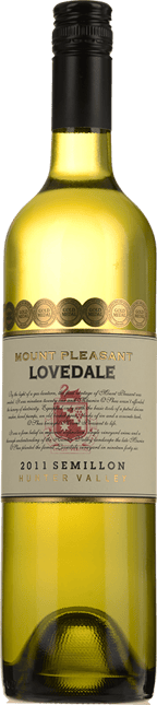 MOUNT PLEASANT Lovedale Semillon, Hunter Valley 2011