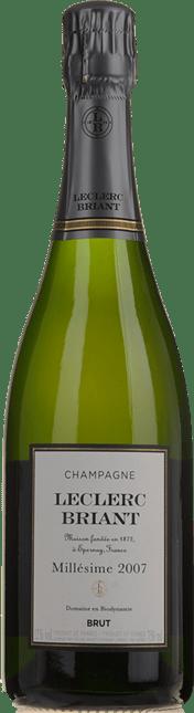LECLERC BRIANT Brut Millesime, Champagne 2007