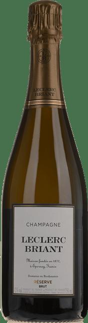 LECLERC BRIANT Brut Reserve, Champagne