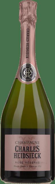 CHARLES HEIDSIECK Rose Reserve, Champagne NV