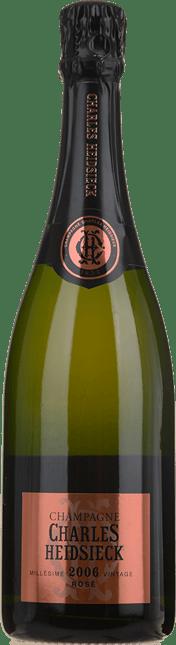 CHARLES HEIDSIECK Rose, Champagne 2006