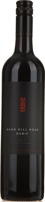 A.T. RICHARDSON WINES Hard Hill Road Durif, Great Western 2013